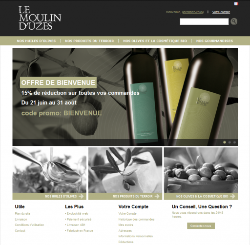 Boutique moulin uzes